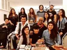 Arjun Kapoor throws a birthday party for father Boney Kapoor