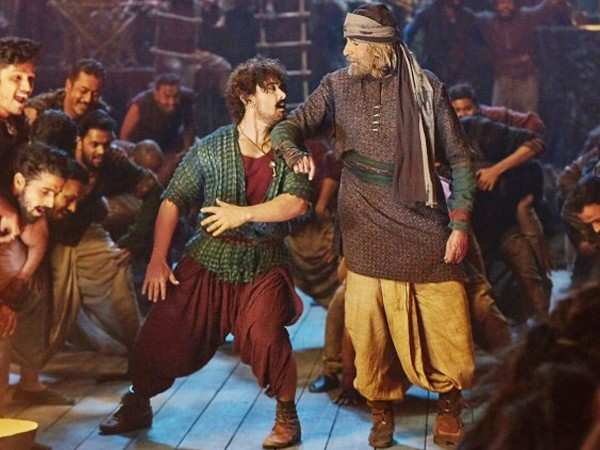 Thugs of Hindostan witnesses a drop in its collections over the weekend