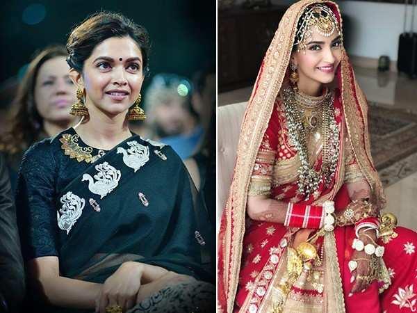 Here's what's common between Sonam Kapoor and Deepika Padukone's wedding