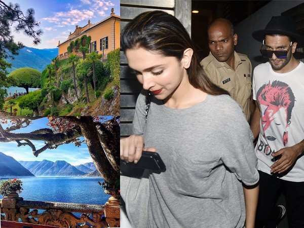 Bad weather forces Ranveer and Deepika to shift their wedding venue?