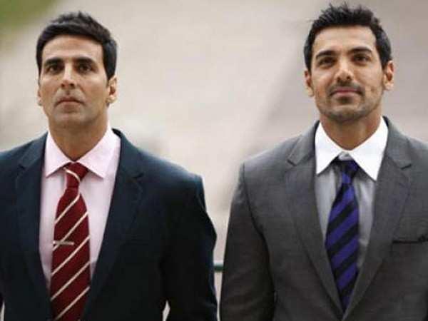 Akshay Kumar and John Abraham to lock horns at the cinemas yet again