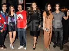 Mira Rajput, Kriti Sanon, Karan Johar party together in Mumbai