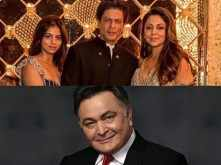 Shah Rukh Khan, Gauri Khan and Suhana Khan visit Rishi Kapoor in New York