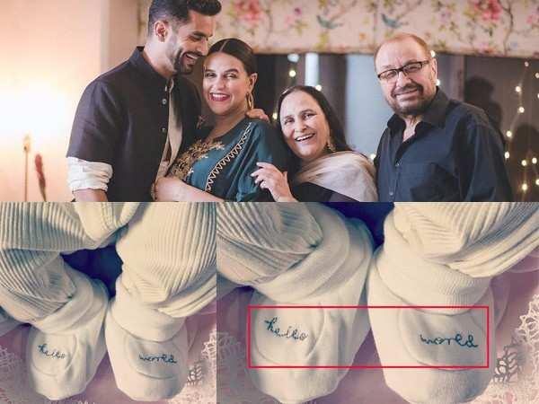 Neha Dhupia and Angad Bedi name their baby girl Mehr Dhupia Bedi