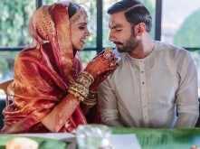 Latest pictures from Ranveer Singh and Deepika Padukone's Konkani wedding