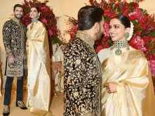 Ranveer Singh and Deepika Padukone look dreamy at their Bengaluru reception