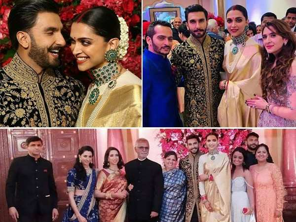 All the inside pictures from Ranveer Singh and Deepika Padukone's reception