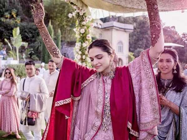 Deepika Padukone danced to THIS song on her mehendi in Italy