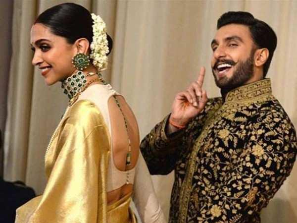 Here's why Deepika Padukone and Ranveer Singh did not pose solo yesterday