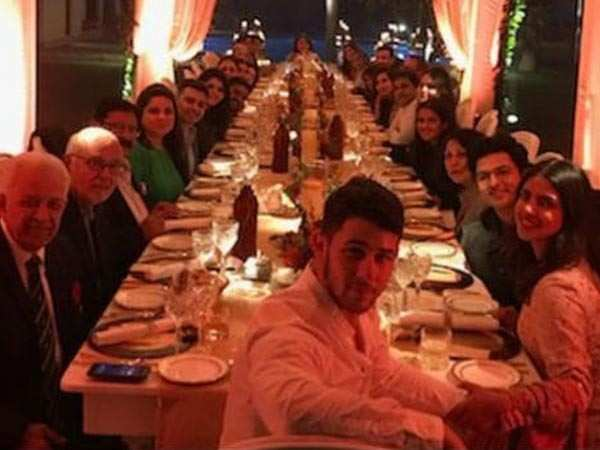 Priyanka Chopra and Nick Jonas celebrate Thanksgiving in the capital