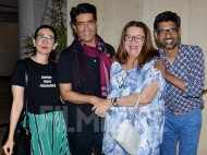 Karisma Kapoor hangs out with mom Babita Kapoor and Manish Malhotra