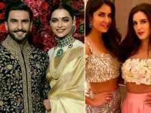 Deepika - Ranveer invite Katrina Kaif & sister Isabelle to their reception