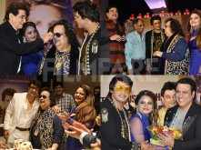 Jeetendra, Sonu Nigam, Shatrughan Sinha at Bappi Lahiri's birthday bash