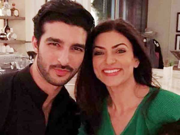 Video! Sushmita Sen celebrates life as maa and man Rohman Shawl applaud her