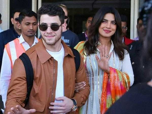 Guests welcomed with a drumroll at Nick Jonas and Priyanka Chopra's wedding