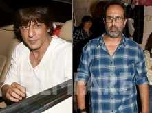 Shah Rukh Khan and Aanand L Rai spotted outside a dubbing studio