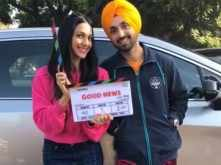 Kiara Advani and Diljit Dosanjh start shooting for Good News