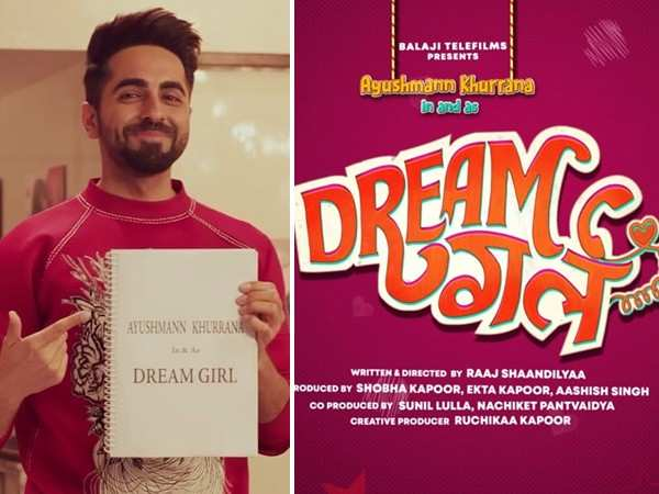 Ayushmann Khurrana announces his next Dream Girl
