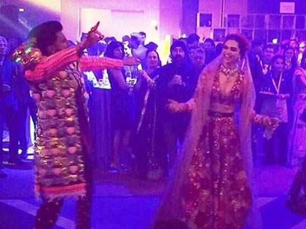 Inside pictures  from Ranveer Singh & Deepika Padukone's wedding bash