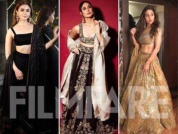 Who wore what at Shah Rukh Khan's Diwali party