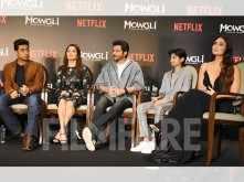 Stars shine at the Mowgli press conference
