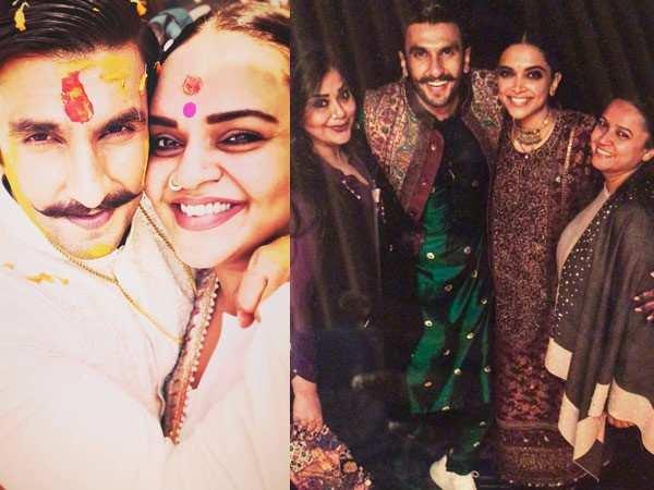 Just In: Latest pictures from Ranveer Singh – Deepika Padukone's wedding