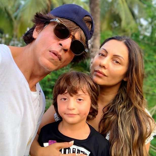 "Shah Rukh Khan and his wife Gauri Khan are one of the most admired power couples of B-town. They have been with each other all these year since their school days and that's what makes their love story totally awesome. Shah Rukh and Gauri are often spotted rooting for each other, whether it is for her design studio or his film. The couple is blessed with three children Aryan Khan, Suhana Khan and AbRam. It is Gauri's birthday today and she made sure she celebrated with her closest people and who better than family. She posted images celebrating her birthday with Shah Rukh and little AbRam. The family looks perfect as they pose for selfies. Gauri captioned the image as, ""With half of my better halves on my birthday…The other halves in school."