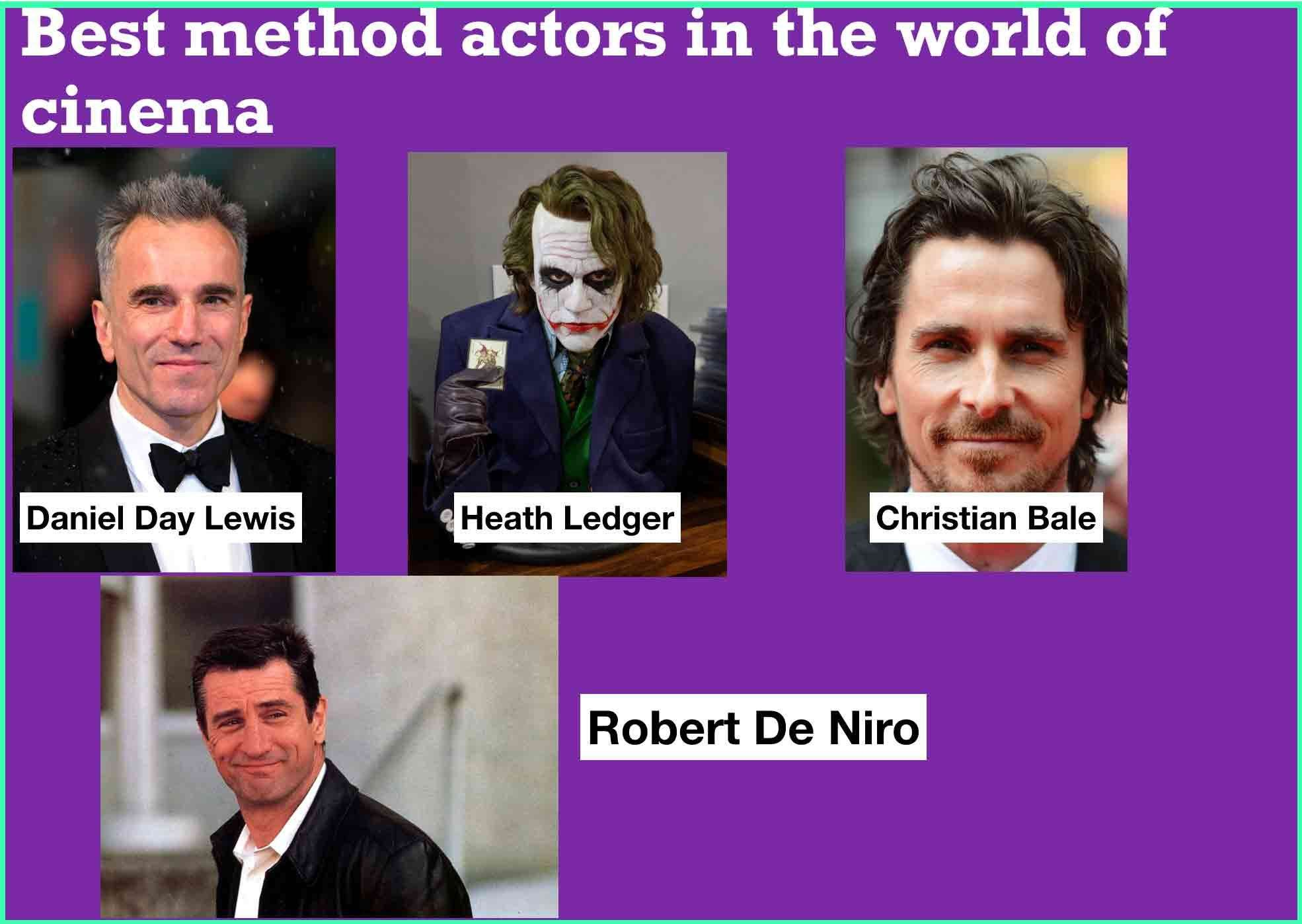 Bollywood actors method acting