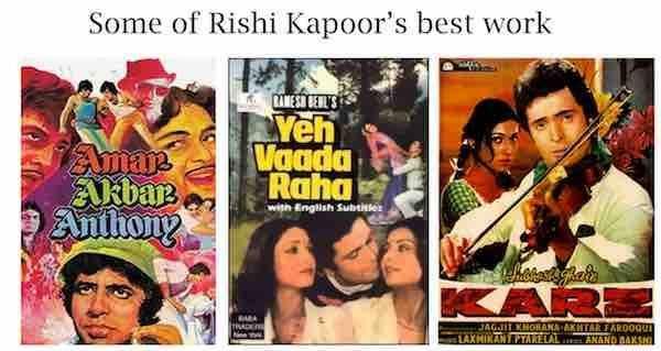 Bollywood Films Rishi kapoor
