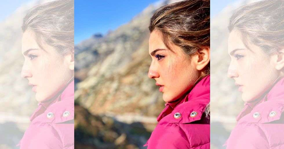 Sara Ali Khan bids adieu to the Swiss Alps with a gorgeous picture
