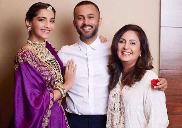 Adorable! Sonam Kapoor and Anand Ahuja ring in Karva Chauth festivities