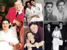 Rare pictures of Late Krishna Raj Kapoor with her family