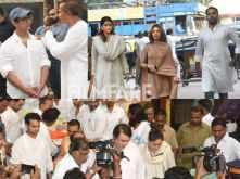 Riddhima Kapoor Sahni, Salim Khan, Anil Ambani and others arrive for Krishna Raj Kapoor's last rites