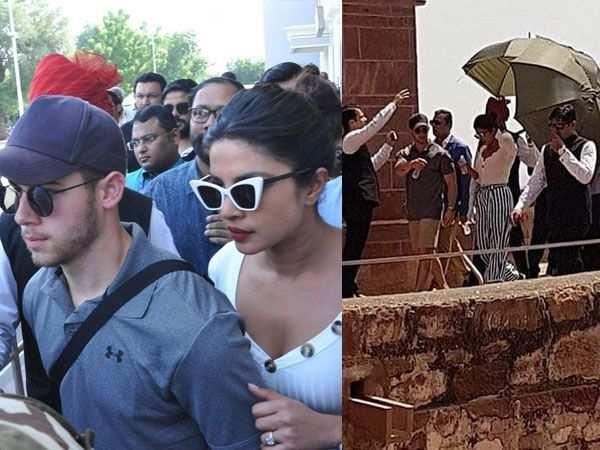 Priyanka Chopra and Nick Jonas visit Mehrangarh fort together