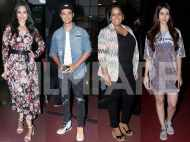 Stars attend the screening of Aayush Sharma and Warina Hussain's LoveYatri