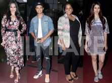 Stars attend the screening of Aayush Sharma and Warina Hussain's LoveYatri