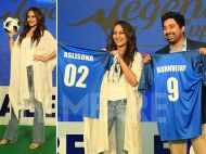 Sonakshi Sinha, Nora Fatehi and Rannvijay Singha launch a football league