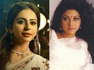 First look! Rakul Preet unveils her look as Sridevi in the NTR biopic