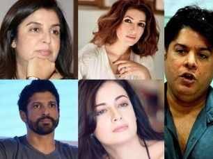 Farah Khan, Farhan Akhtar and Twinkle Khanna on Sajid Khan's case