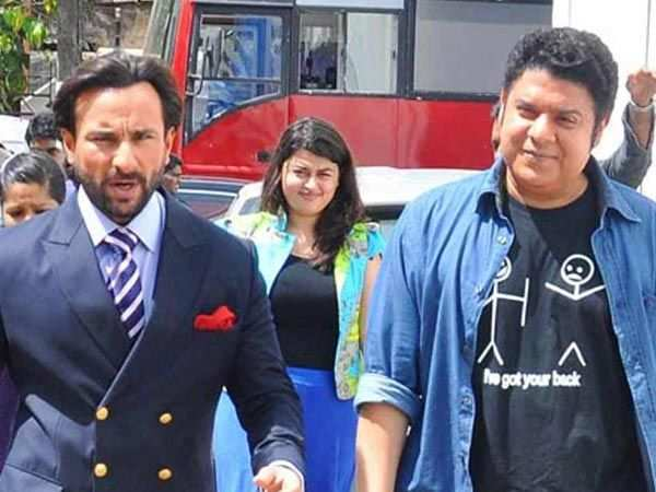 Saif Ali Khan reacts to Sajid Khan's sexual harassment allegations