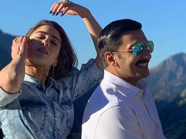 Sara Ali Khan and Ranveer Singh are having a blast in Switzerland