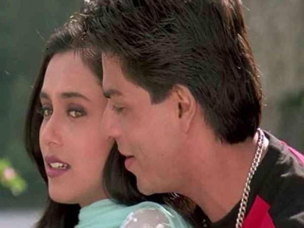 """I would go back a little every time SRK came to kiss me."" – Rani Mukerji"