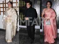 Rekha, Jeetendra and more light up Hema Malini's birthday celebrations