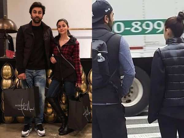 Check out Ranbir Kapoor and Alia Bhatt's latest pictures from New York