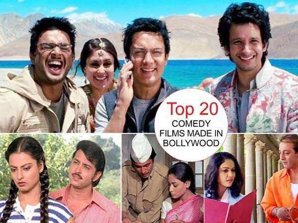 Top 20 comedy films made in Bollywood