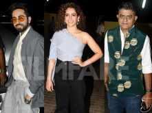 Ayushmann Khurrana & Sanya Malhotra host a special screening of Badhaai Ho