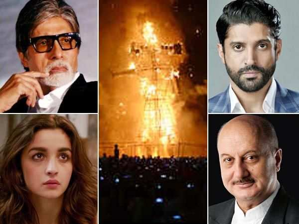 Amritsar Train Tragedy: B-town stars send out prayers to victims & families