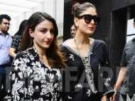 Kareena Kapoor Khan and Soha Ali Khan twin in black at their lunch date