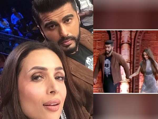Pictures! Arjun Kapoor and Malaika Arora Khan turn heads on a reality show