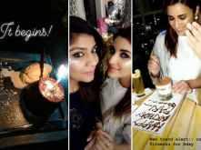 Pictures! Parineeti Chopra celebrates her 30th birthday in Dubai